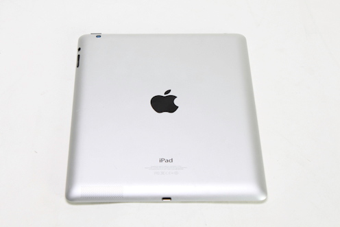 The back shines with Apple logo