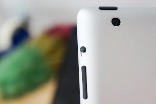 iPad 4's main camera still owns 5MP resolution like iPad 3's one