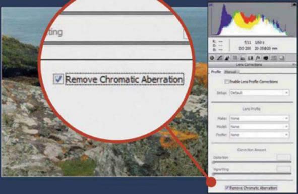Remove Chromatic Aberration