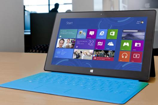 Microsoft's Surface uses ARM technology to drive its new Windows RT OS