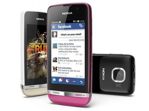 Nokia Asha 311 has touch screen with 3-inch capacitance.