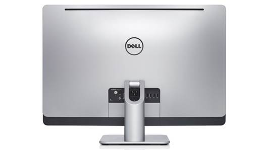 Dell XPS One 27 Touch from back