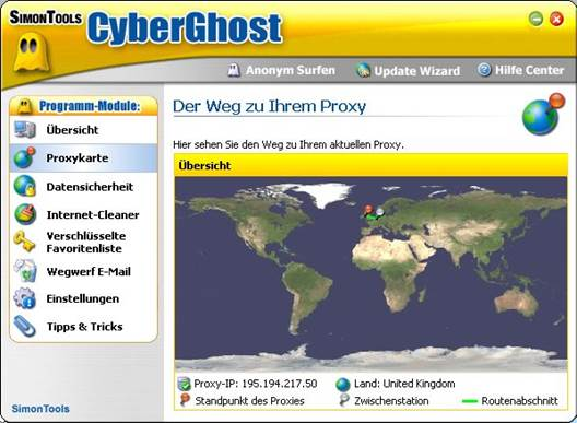 CyberGhost is a popular service, which offers four different plans