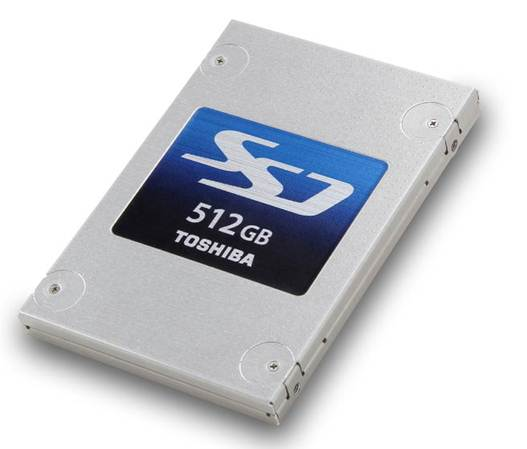 Description: Toshiba THNSNF512GCSS 512GB SSD