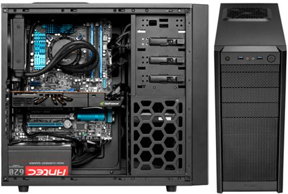 The Antec One punches above its weight in terms of cooling, and at $61.5, offers superb value.