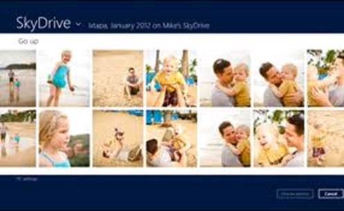 Overhauled with a Windows 8 style minimal layout, SkyDrive is currently easy to navigate and comfortable to use.