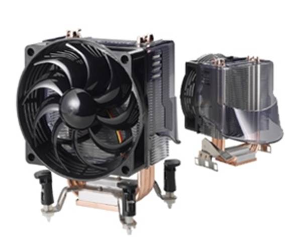 Any retail processor should come with a CPU cooling fan that will help to keep it running at a safe, non-damaging temperature.