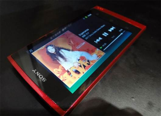 The Android music app is replaced with a Walkman app, a simple but nicely styled audio player, and there are also wireless connectivity options for your other Sony gear.