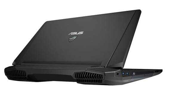Impressively hefty, the G750JH is one of the fastest laptops we've seen.
