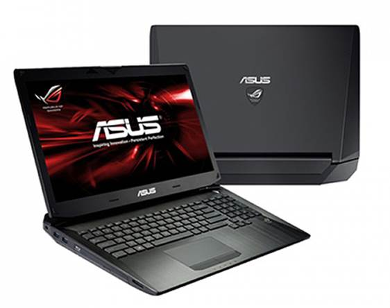 The Asus G750JH is heavy, at 10 pounds sans peripherals