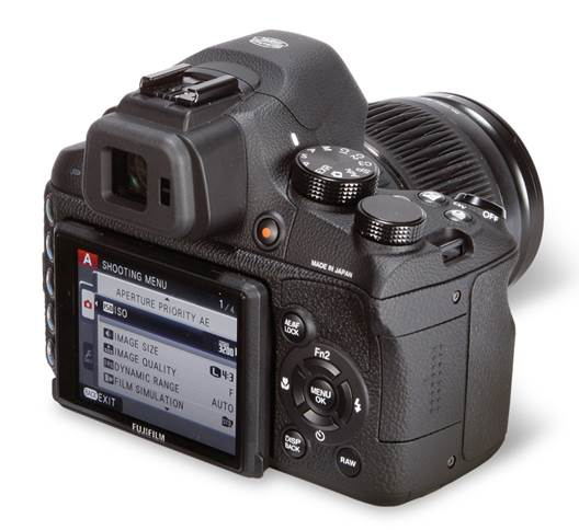 We still love the X-S1's controls and viewfinder
