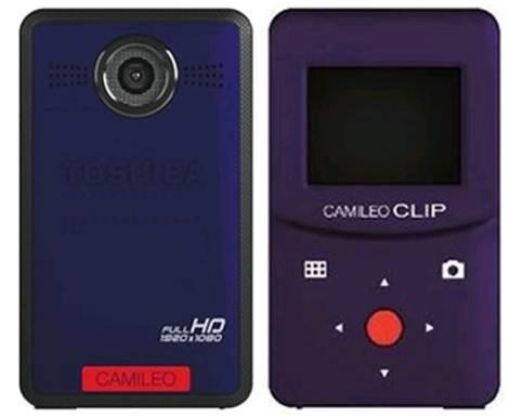Description: Toshiba Camileo Clip
