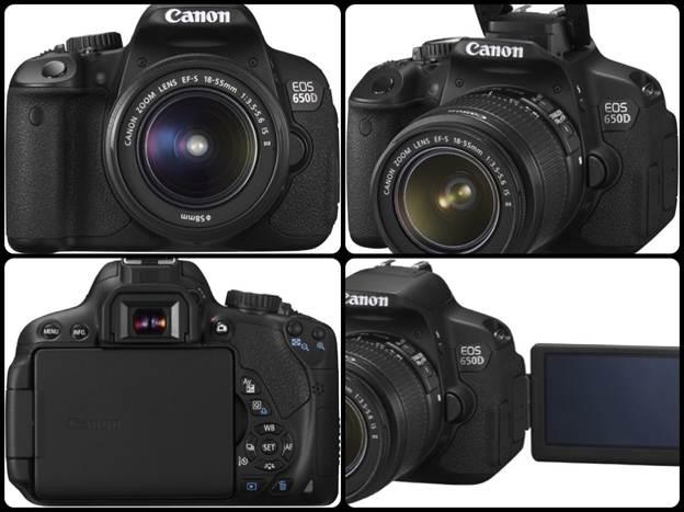 Description: Canon EOS 650D - High-Ranking DSLR