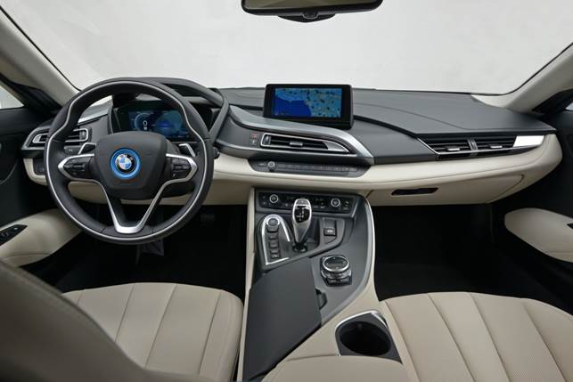 The cabin is a mixture of traditional BMW fare and more distinctive, individual design