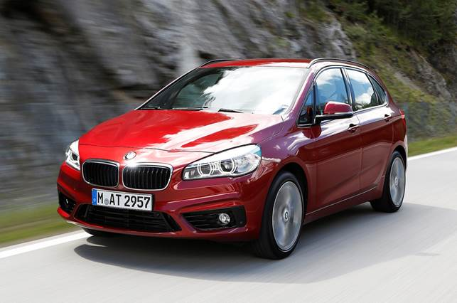 The 2-series Active Tourer looks clean and professional from the outside