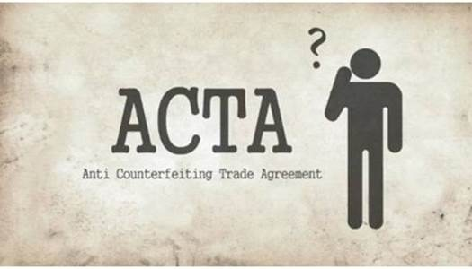 On the global scale, several nations proposed an international trade agreement, named Anti-Counterfeiting Trade Agreement or ACTA.
