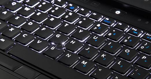 As a business model, it also has a joystick lying between the G and H keys along with three mouse buttons on the touchpad