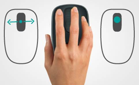 As with most Logitech devices, it's very comfortable to hold and use.