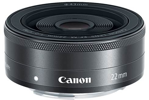 Canon EF-M 22mm f/2 lens