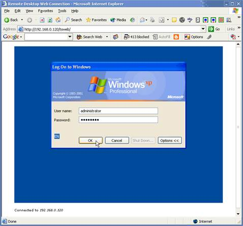 Windows RDP is the service that enables you to log into a networked Windows PC remotely as if you were sitting right in front of it