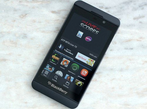 One weakness of the Z10 now is the lack of apps on the store due to the new platform.