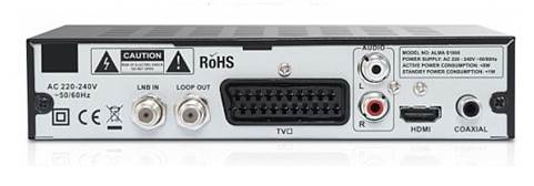 The size of the front USB socket (for PVR storage) gives the game away a little, but the conventional front panel