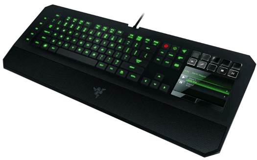 DeathStalker's chiclet keyboard