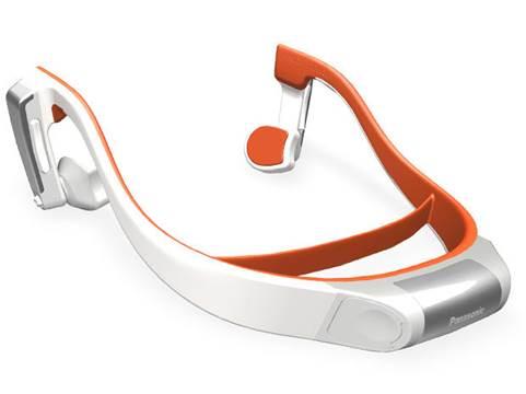 Panasonic RP-BTGS10 bone conduction headphones