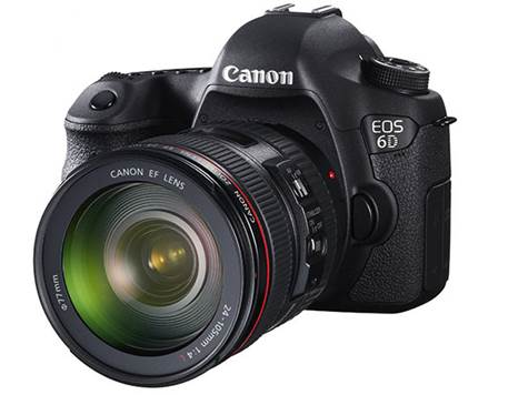 The new EOS 6D is the smallest and lightest full-frame Canon DSLR