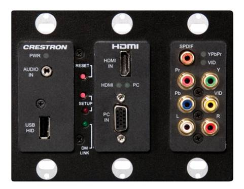 Crestron Digital Media Wall Plate Transmitter Shipping Now