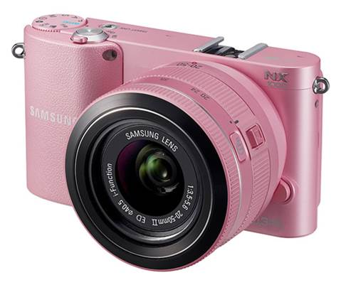 We also received last minute news that the NX1000 will ship in pink, as well as white and black.