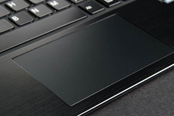 Description: The large clickpad isn't made of glass like on other premium Ultrabooks