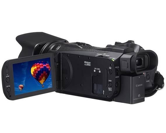 Description: Screen Camera of Canon Legria HF G30