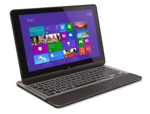 The Toshiba Satellite U925t ($1,150) is another Windows 8 hardware line.