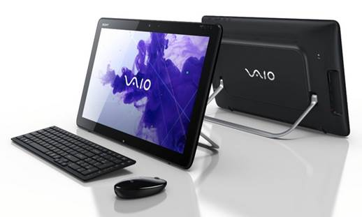 Sony has even crammed in some component access behind the rubberized rear panel, but the Vaio isn't without its issues.
