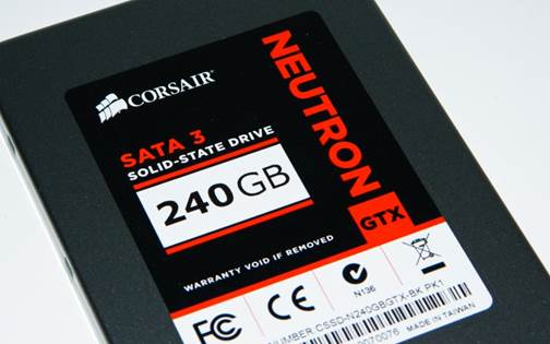 Corsair Neutron GTX 240GB - A Fast Performing SSD
