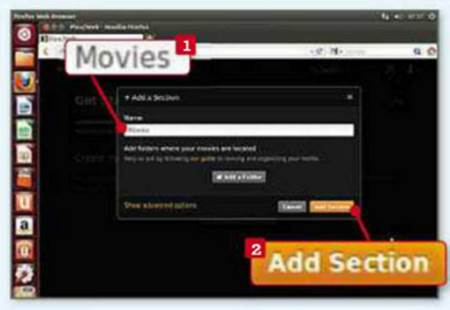 how to add moviess from computer to plex