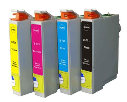 Replace your empty ink cartridges with those recommended by your manufacturer
