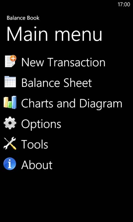 Balance Book is a useful little sales and expense management application designed for small businesses