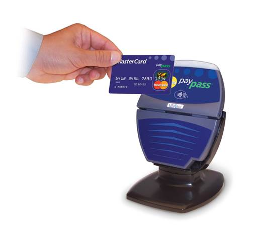 At your brick-and-mortar location, it's convenient to use a POS terminal that accepts credit card payments