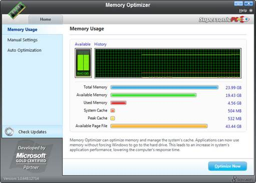 Problems with your PC's memory, or RAM can result in a variety of issues