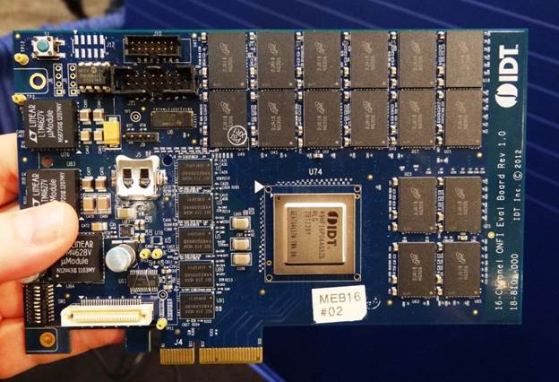 IDT, LSI, and Intel are members of the NVMe working group, but more companies are sure to hop on board as the standard progresses