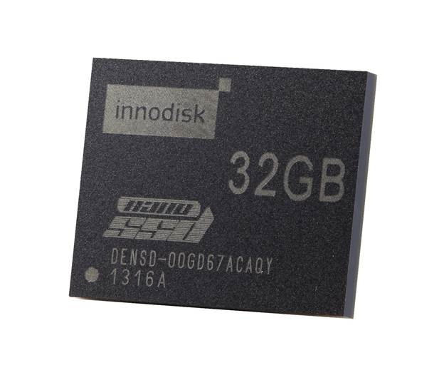 Innodisk Releases World's First Industrial-Embedded SATA µSSD