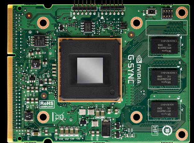 Nvidia's G-Sync module is designed to replace a monitor scaler - a controller module found in modern A/V devices