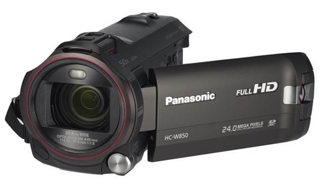 Panasonic HC-W850 front view