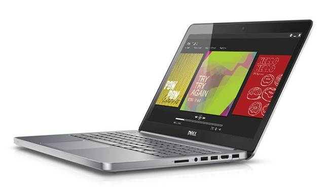 The Dell Inspiron 15 7000 looks classy and feels very robust as it's mostly made from metal, with the exception of the plastic underside.