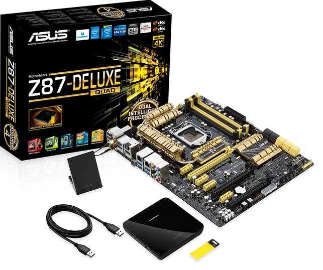 Asus Z87-Deluxe Review