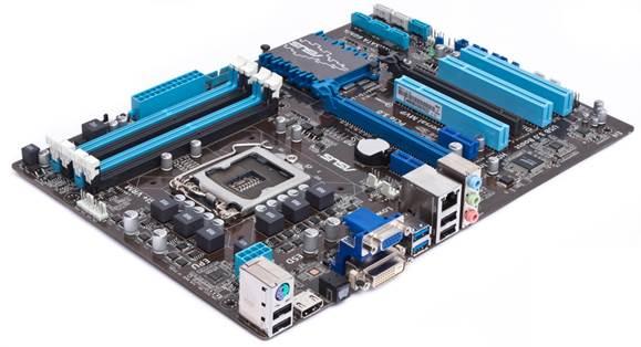 Asus P8Z77-V LX motherboard