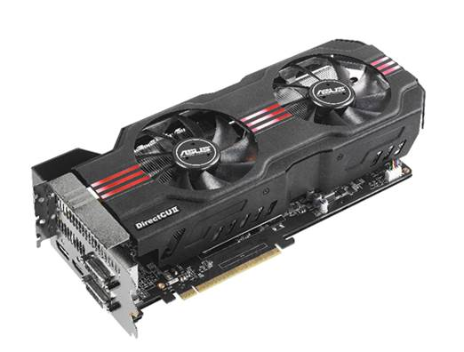 The Asus GeForce GTX 680 DirectCU II TOP's name is almost as long as the 11-inch card.