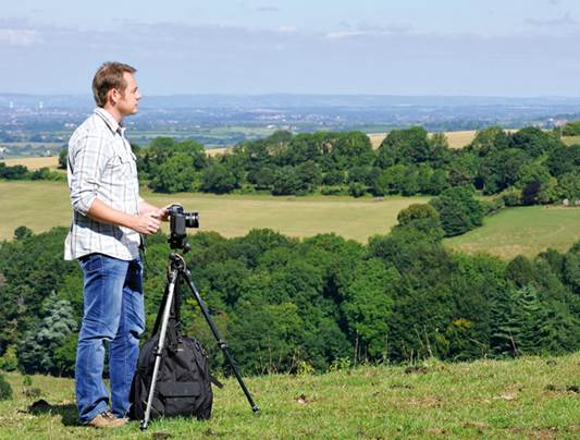 You need a tripod to simply hold the camera precisely in position, in the studio or waiting for the right light in a landscape